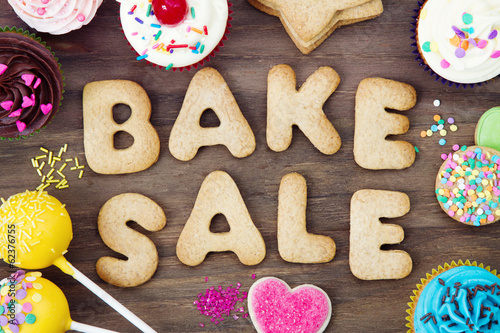 Papiers peints Biscuit Bake sale cookies