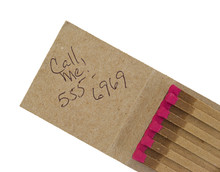Open Matchbook With Message