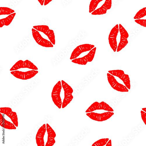 bezszwowe-tlo-z-pocalunkami