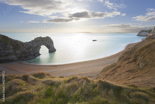 Photo  Durdle Door Dorset, Jurassic Coast, UK.