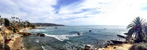 Staande foto Los Angeles Laguna Beach Panorama CA