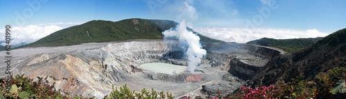 Valokuva  COSTA RICA Volcan Poas