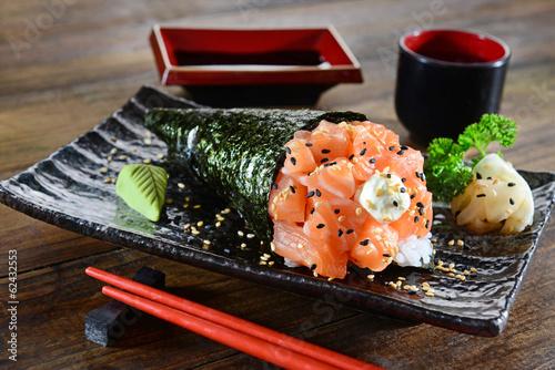 Temaki - Japanese food