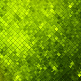 Green glitters on a soft blurred. EPS 10