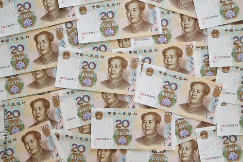 Fototapety, obrazy: Chinese currency