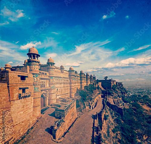 Gwalior Fort Acheter Cette Photo Libre De Droit Et Découvrir Des
