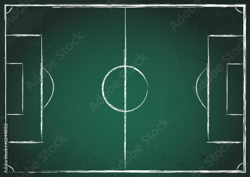 Obraz Fußballfeld grün - fototapety do salonu