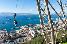 Cable Car Approaching Rock Of ...