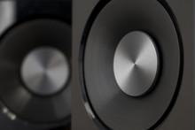 Speakers Hi-fi Audio Close Up