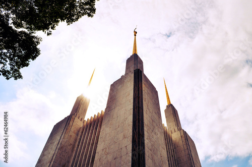 Keuken foto achterwand Temple Washington, D.C. Mormon Temple
