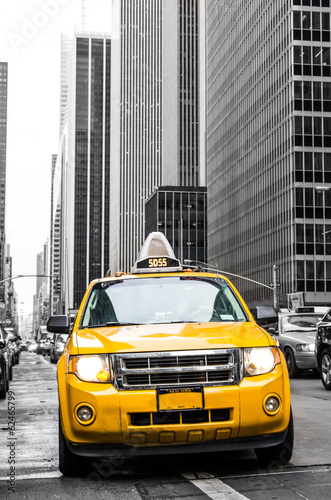 Foto yellow cab of new york