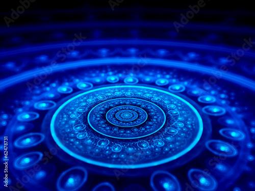 Fotografie, Obraz  Spiritual blue star gate