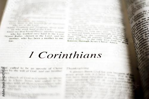 Book of 1 Corinthians Canvas-taulu