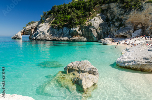 Sardinia: Cala Goloritze', Ogliastra region Canvas Print
