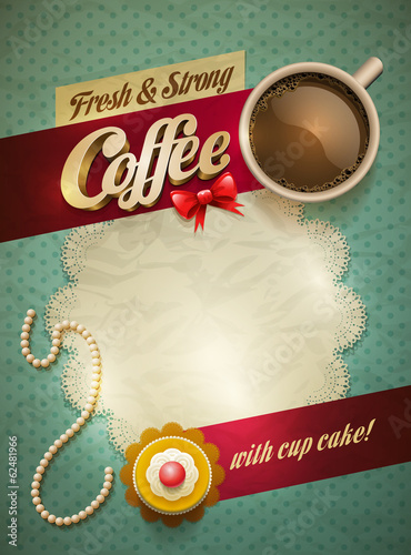 Coffee & cake poster