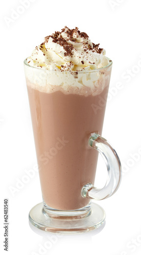 Printed kitchen splashbacks Chocolate Hot chocolate drink