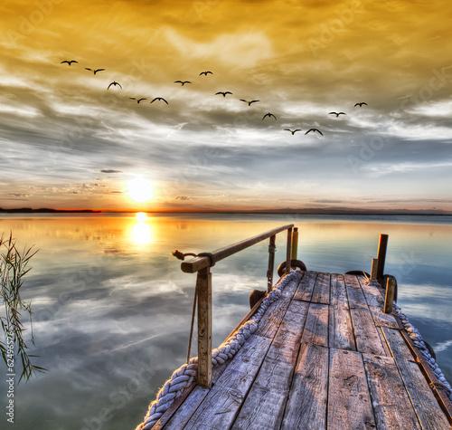 Fotografering  El lago de los sueños . HDR