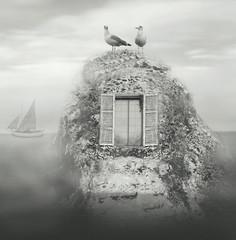 Fototapeta Morze Nordic fantasy landscape