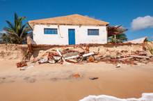 Eroded Beach With House, Pitit...