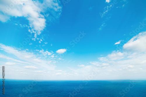 Fototapete - 沖縄の海と空