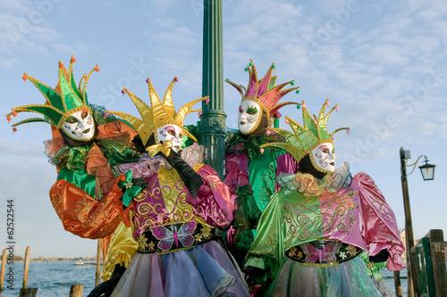 Maschere veneziane - Venetian masks #62522544