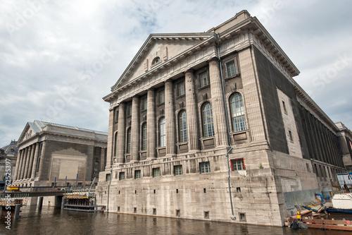 Keuken foto achterwand Berlijn Facade of the Pergammonmuseum in Berlin. The Pergammon Museum ho