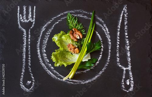 Fotografie, Obraz  Diet.