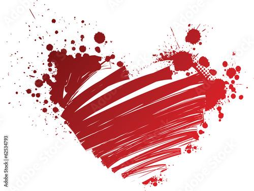 La pose en embrasure Papillons dans Grunge Grunge heart