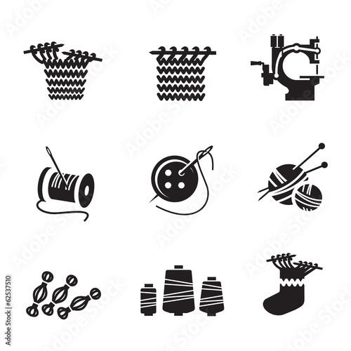 Fotografie, Obraz  Icons. Vector format