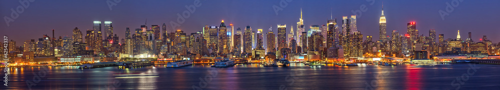 Fototapety, obrazy: Manhattan at night