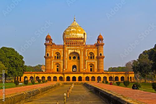 Stickers pour portes Delhi Delhi. Mausoleum Safdarjung