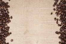 Coffee Canvas Background