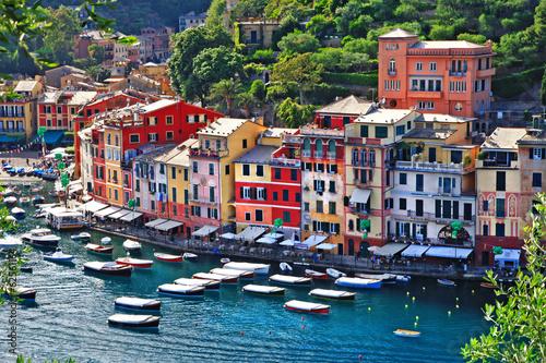 incredible Italia series- luxury Portofino, Liguria Wallpaper Mural