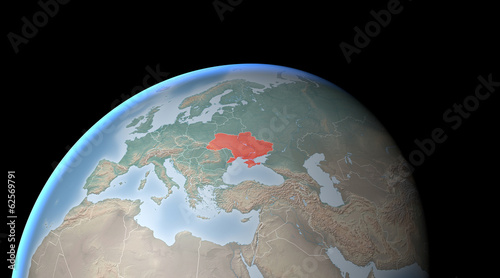 Cartina Europa Crimea.Cartina Europa Asia Medio Oriente Crimea E Ucraina Buy