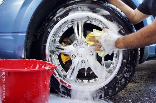 Fotografie, Obraz  Car washing