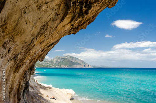Photo  Cala Luna beach, Sardinia