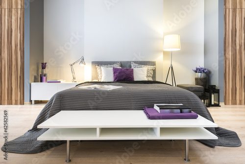 Fotografia  Modern stylish bedroom