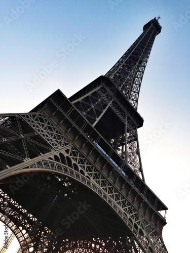 Eiffel Tower Paris angled shot #62582932