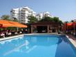 Двор с бассейном в ресторане Турция, Анталия