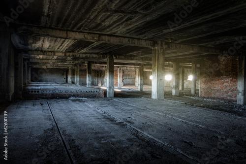 abandoned building Wallpaper Mural