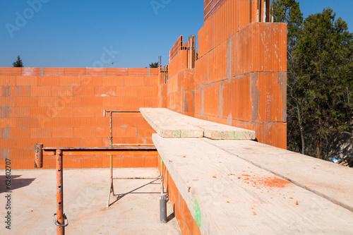 Poster Algérie Construction maison