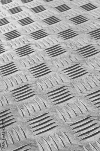 Industrial metal flooring Canvas Print