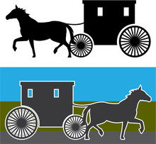 Amish Wagon