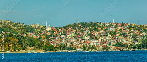 Fotobehang Midden Oosten Sailing Bosphorus