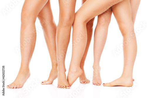 Female legs Poster Mural XXL