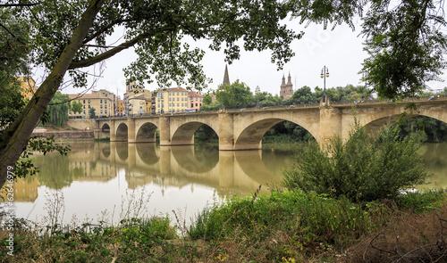 Bridge of stone, Logroño, La Rioja