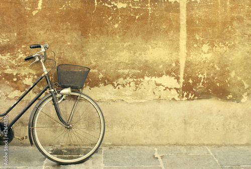 La pose en embrasure Velo Vintage bicycle