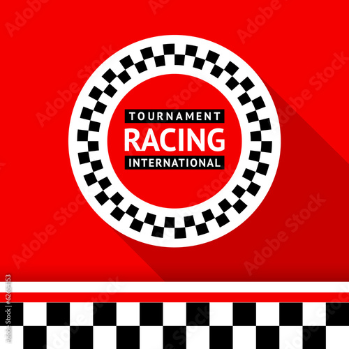 Racing badge 06 - 62654153