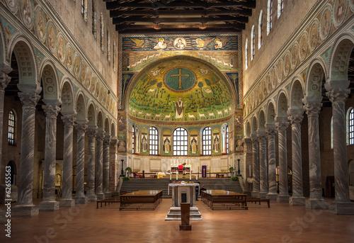 Fototapeta Basilica of Saint Apollinaris in Classe, Emilia-Romagna, Italy obraz