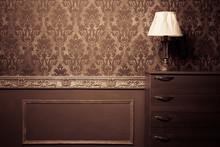 Vintage Room Interior Toned Im...